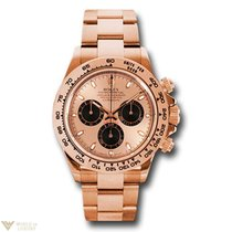 Rolex Oyster Perpetual Cosmograph Daytona 18K Rose Gold Unisex...