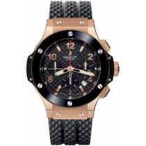 Hublot Big Bang 44 mm new Automatic Chronograph Watch with original box and original papers 301.PB.131.RX