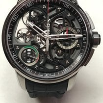 Angelus new Automatic Skeletonized Power Reserve Display Limited Edition 47mm Titanium Sapphire crystal