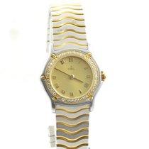 Ebel Sport Classique Damen Uhr 25mm Stahl/gold Mit Orig. Stahl...