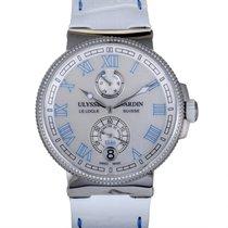 Ulysse Nardin Marine Chronometer Manufacture 43mm Перламутровый