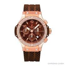 Hublot Big Bang Cappuccino Chronograph In 18k Rose Gold With...