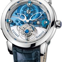 Ulysse Nardin Royal Blue Mystery Tourbillon  Plat NEW 50% off