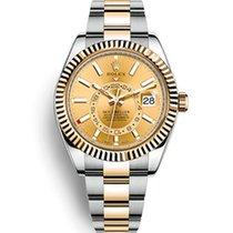 Rolex Sky-Dweller Gold/Steel 42mm Gold