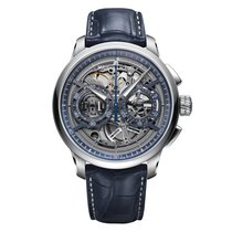 Maurice Lacroix Masterpiece Squelette nieuw 45mm Staal