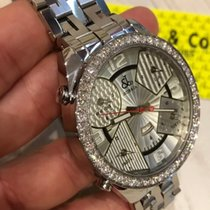Jacob & Co. Five Time Zone 47mm Diamond , J&Co Bracelet  New ...