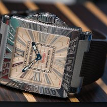 Roger Dubuis Acqua Mare Square Diving watch 2005 steel 300...