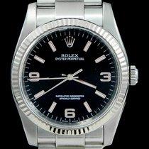 Rolex Oyster Perpetual 36 Сталь 36mm Чёрный Aрабские