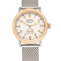 Shinola Steel 41mm Quartz S0110000030 new