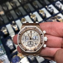 Audemars Piguet Royal Oak Offshore Lady Rose gold 37mm Silver No numerals United States of America, New York, New York
