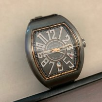Franck Muller Titanium Automatic Grey Arabic numerals 44mm new Vanguard