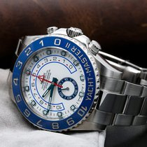 Rolex Yacht-Master II Steel 44mm White No numerals United States of America, New York, NewYork