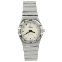 Omega Constellation Ladies Steel 25mm Silver