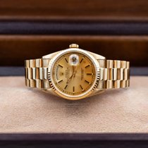 Rolex Day-Date 36 Yellow gold 36mm No numerals United States of America, Illinois, Barrington