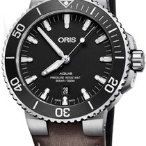 Oris Aquis Date new Automatic Watch with original box 73377304124LS