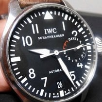 IWC Steel Automatic Black 46mm pre-owned Big Pilot