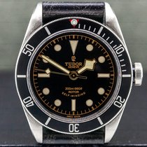 Tudor Black Bay Stål 41mm Svart Arabisk