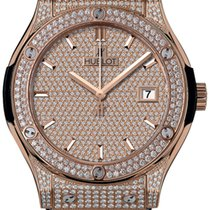 Hublot Rose gold Automatic Gold 42mm new Classic Fusion 45, 42, 38, 33 mm