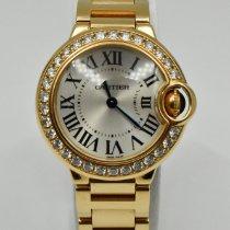 Cartier Ballon Bleu 28mm Rose gold 29mm Silver Roman numerals United States of America, Texas, Houston