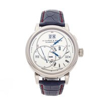 A. Lange & Söhne pre-owned Manual winding 45.5mm Silver 3 ATM