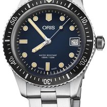 Oris 01 733 7747 4055-07 8 17 18 Divers Sixty Five new United States of America, New York, Brooklyn
