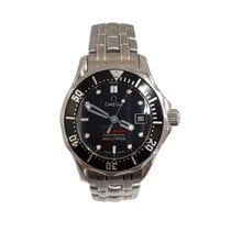 Omega Seamaster Diver 300 M pre-owned 28mm Black Date Steel
