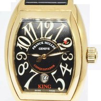 Franck Muller Conquistador 8001 SC Very good Yellow gold 56mm Automatic