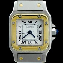 Cartier Santos (submodel) Very good Gold/Steel 26mm Automatic