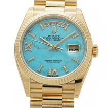 Rolex Day-Date 36 Yellow gold 36mm Gold Roman numerals United States of America, New York, New York