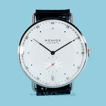 NOMOS Metro 38 Datum Steel 38,5mm White No numerals