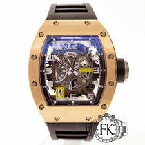 Richard Mille RM030 AN RG | Rose Gold Rubber Strap | Power...