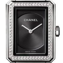 Chanel Boy-Friend Steel 21.5mm Black United States of America, New York, Airmont