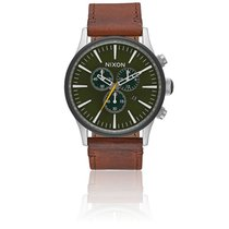 Nixon Sentry Chrono Leather Surplus / Brown A405-2334