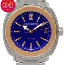 JeanRichard Terrascope Or/Acier 39mm Bleu