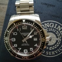 Longines HydroConquest EFCo automatic black 41mm