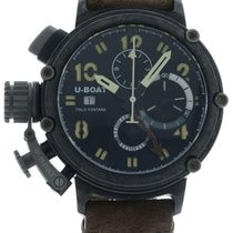 U-Boat Chimera Carbonia 7177 Watch with Leather Bracelet and...