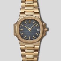Patek Philippe Nautilus Ref. 3800 with a Blue Dial