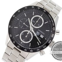 TAG Heuer Carrera Calibre 16 Steel 41mm Black No numerals United States of America, Pennsylvania, Willow Grove