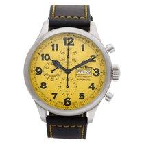 Ernst Benz Chronoscope GC10119 Stainless Steel Yellow dial...