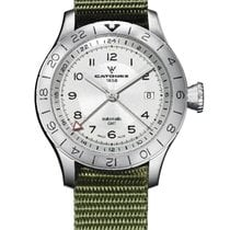 Catorex Steel 42mm Automatic Catorex GMT Voyager Silver new