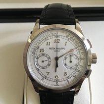 Patek Philippe Chronograph pre-owned 39mm Chronograph Crocodile skin