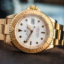 Rolex OYSTER PERPETUAL YACHT MASTER 18K  16628 /BOX&PAPERS