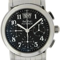 Paul Picot Firshire Acero 39mm Negro Árabes
