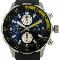 IWC Aquatimer Chronograph nou 2010 Atomat Cronograf Ceas cu cutie originală și documente originale IW376702
