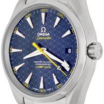 Omega Seamaster Aqua Terra Steel 41.5mm Blue No numerals United States of America, Texas, Dallas