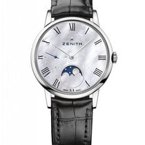 Zenith Elite Ultra Thin new Automatic Watch with original box and original papers 03.2320.692/81.C714