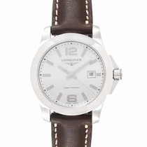 Longines Conquest Steel 29.5mm Silver United States of America, New Jersey, Cresskill