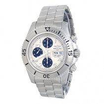 Breitling Superocean Chronograph Steelfish Steel 44mm White United States of America, New York, New York