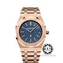 Audemars Piguet Royal Oak Jumbo nou 2019 Atomat Ceas cu cutie originală și documente originale 15202OR.OO.1240OR.01