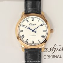 Glashütte Original Senator Automatic Rose gold 40mm Silver United States of America, New York, Airmont